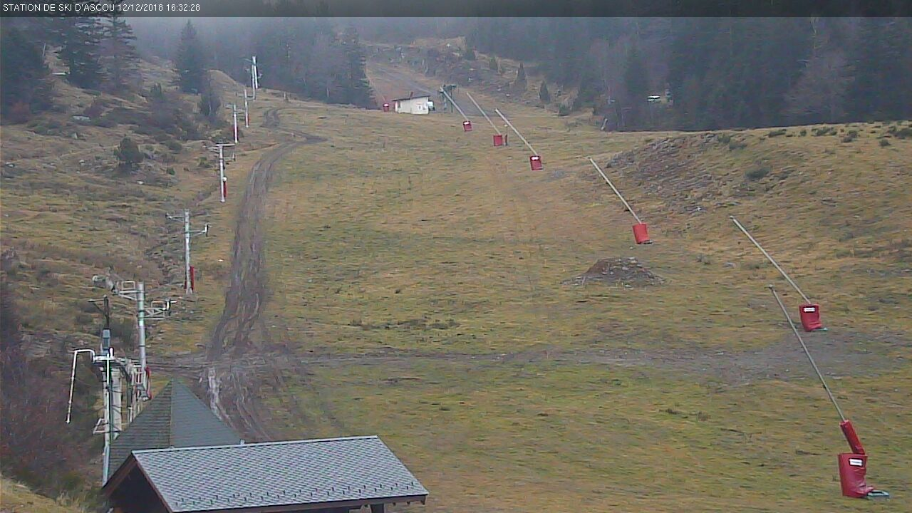 webcam Ascou piste luge