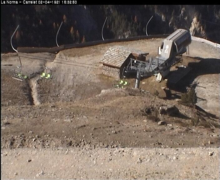 La webcam de la station