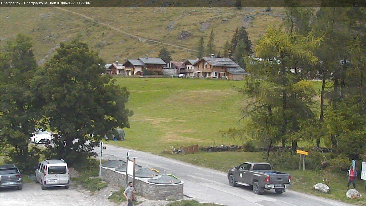 Webkamera La Plagne Skiregion