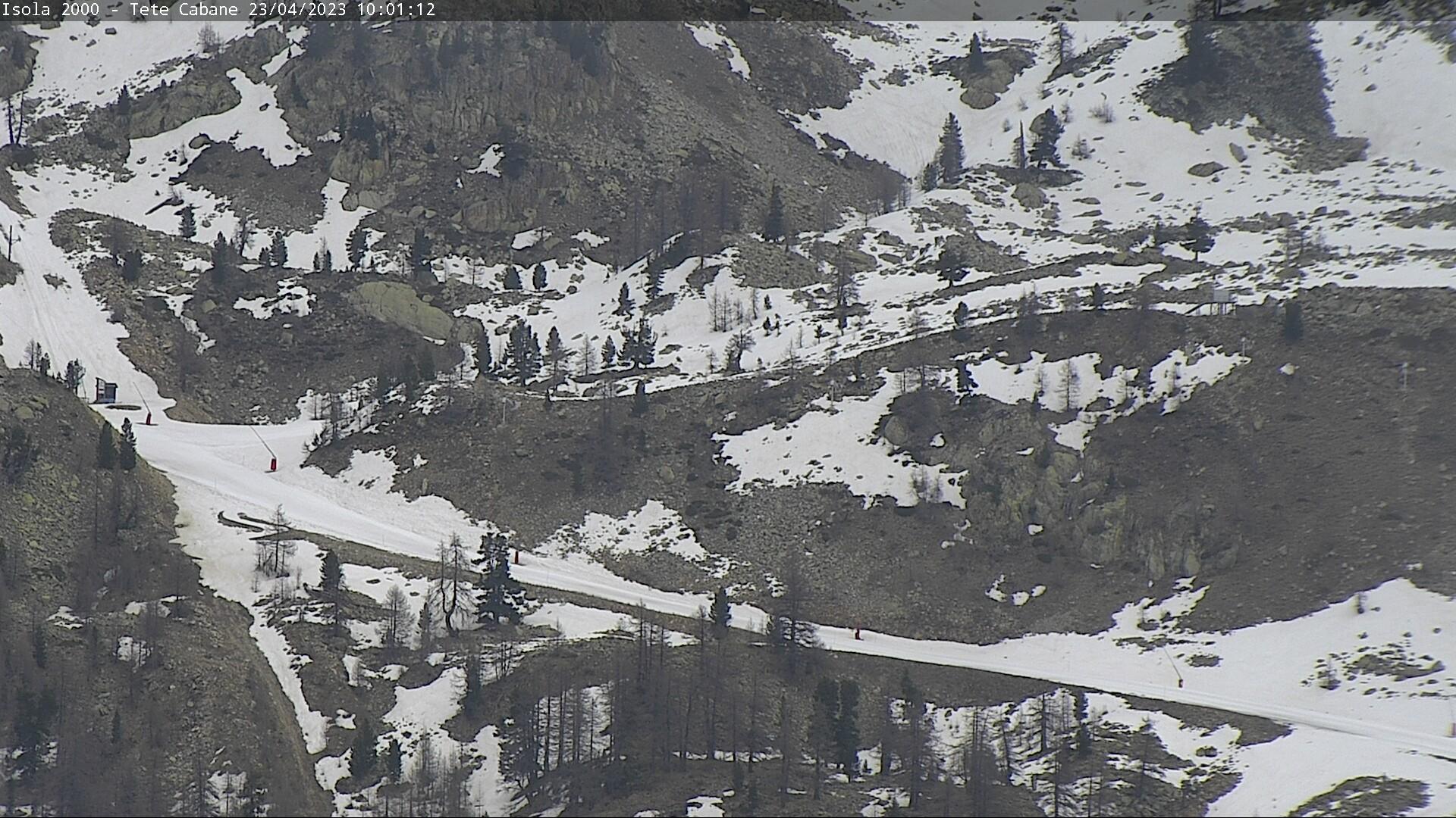 Raquette neige isola 2000 webcam