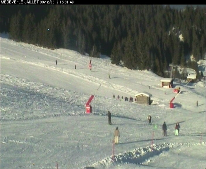 Webcams de Megève