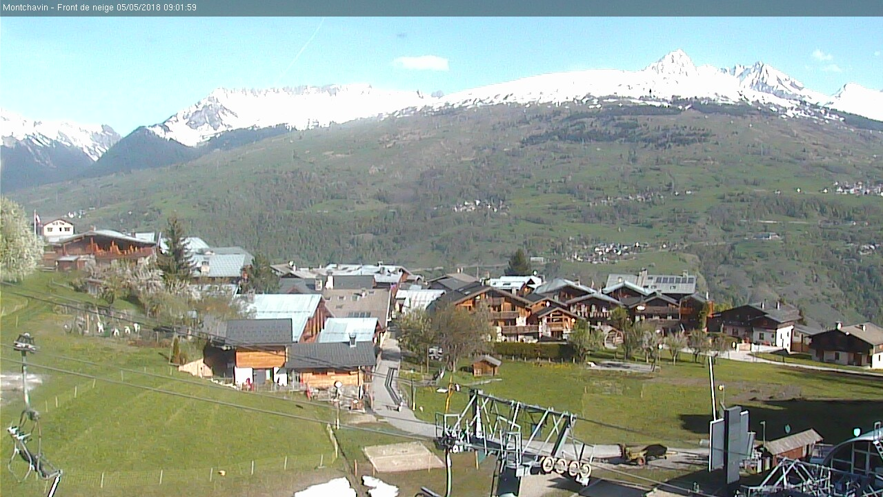 Webcam la plagne paradiski webcams la plagne paradiski - Office de tourisme montchavin les coches ...