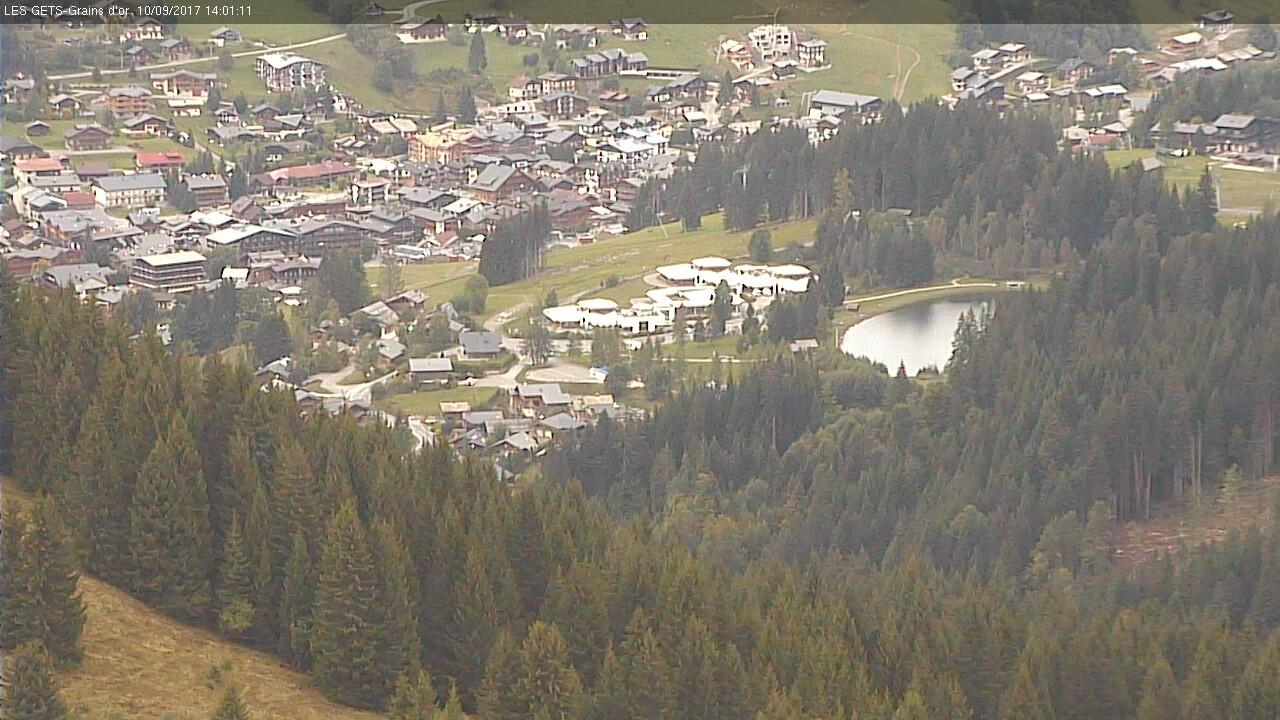 Webcams from ski resorts in France Switzerland - Portes du Soleil