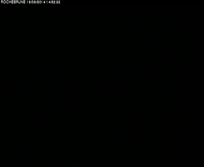 Survol mont blanc depuis megeve webcam