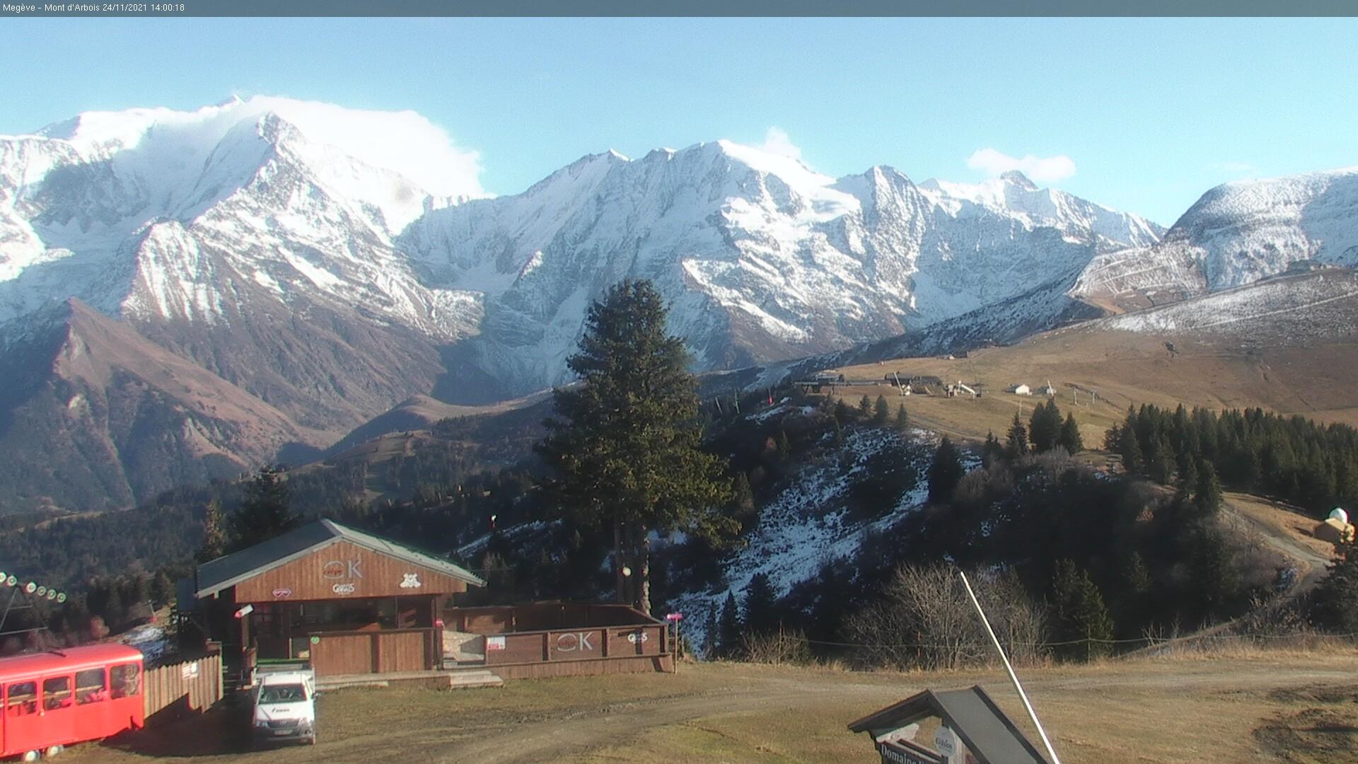 Webkamera Saint-Gervais–Mont Blanc
