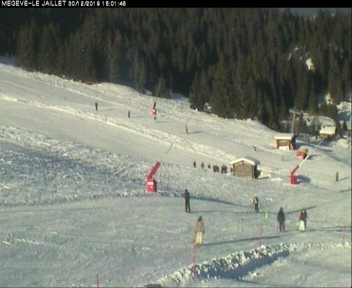Webcam en Le Jaillet, Megève (Alpes Franceses)