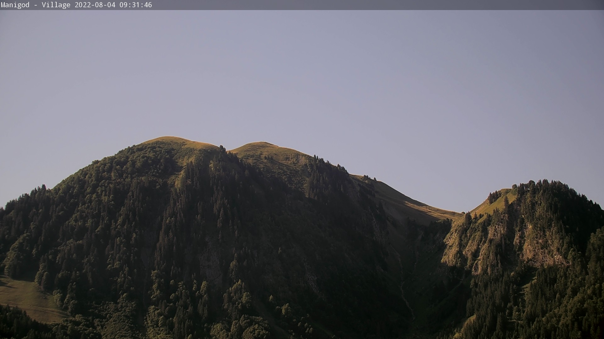 Manigod Le Sulens webcam, La Clusaz station de ski, France