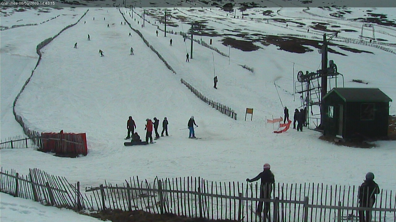 Ski report scotland glenshee webcam