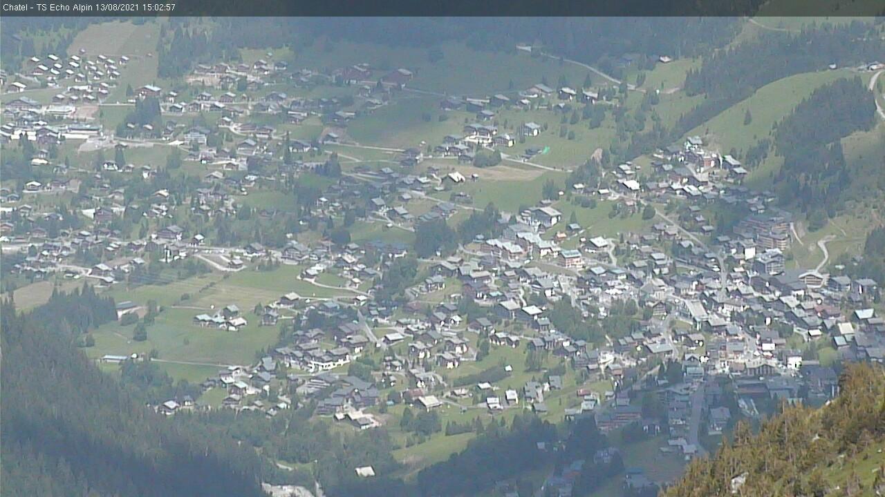 Chatel village webcam