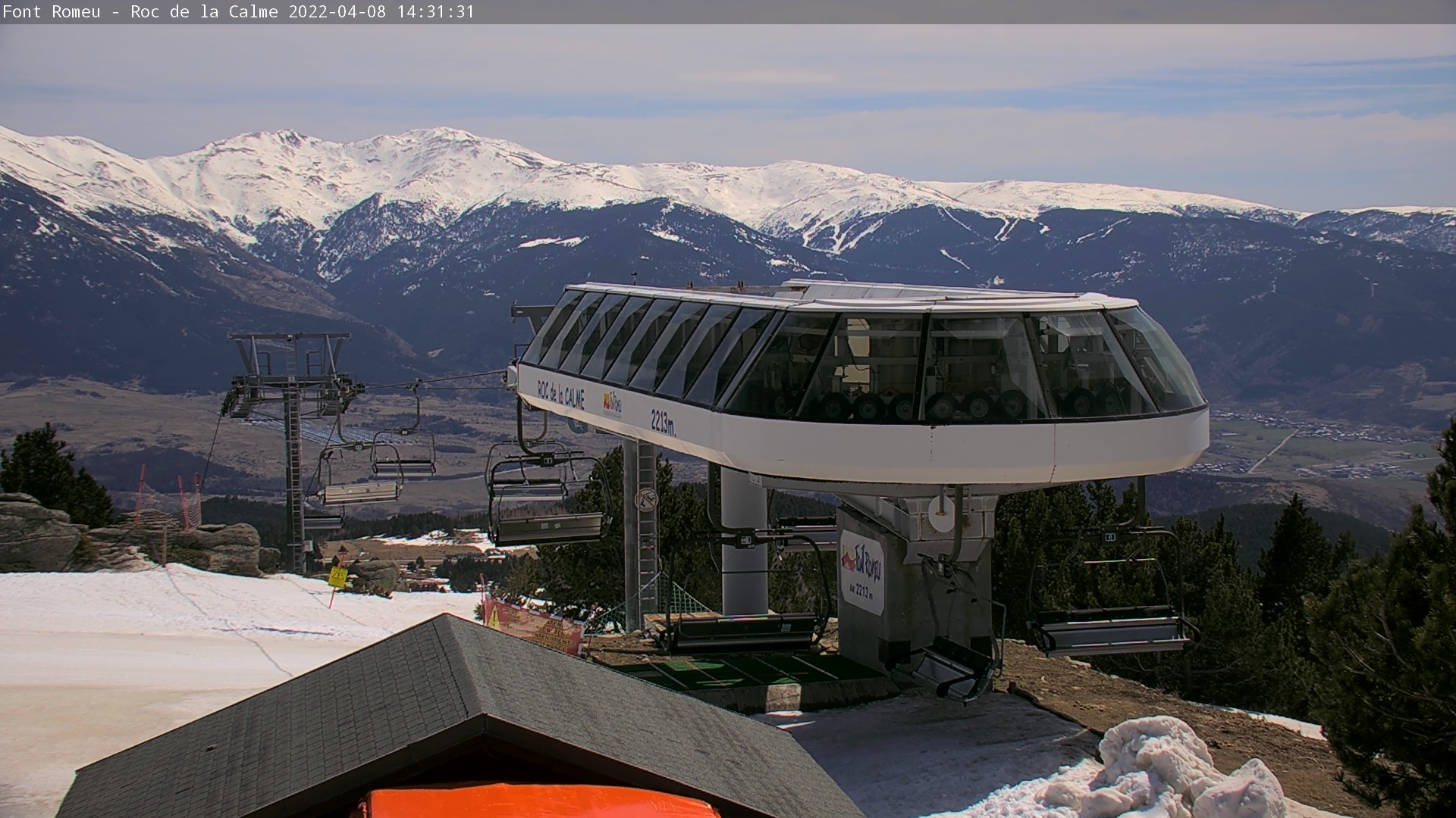 Webcam en Roc de la Calme