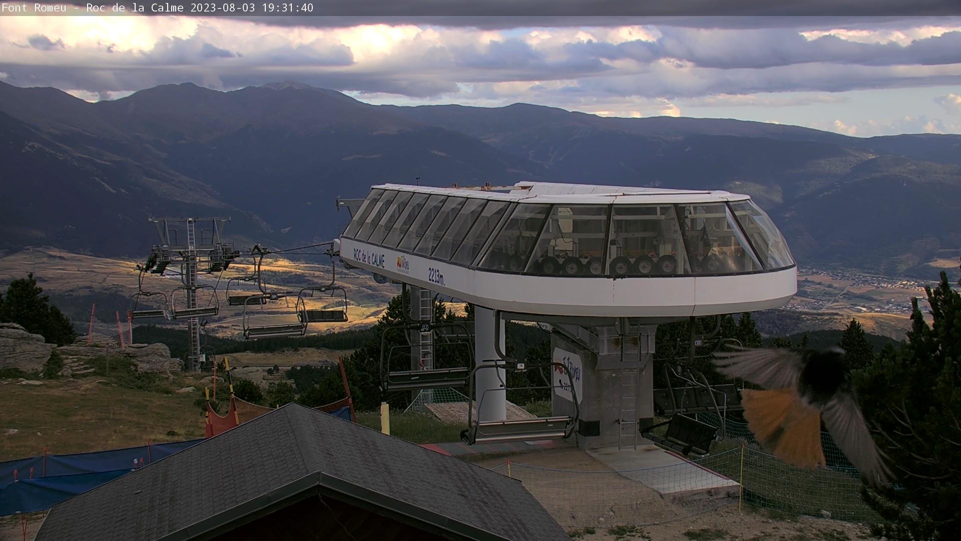 Webcam en Roc de la Calme