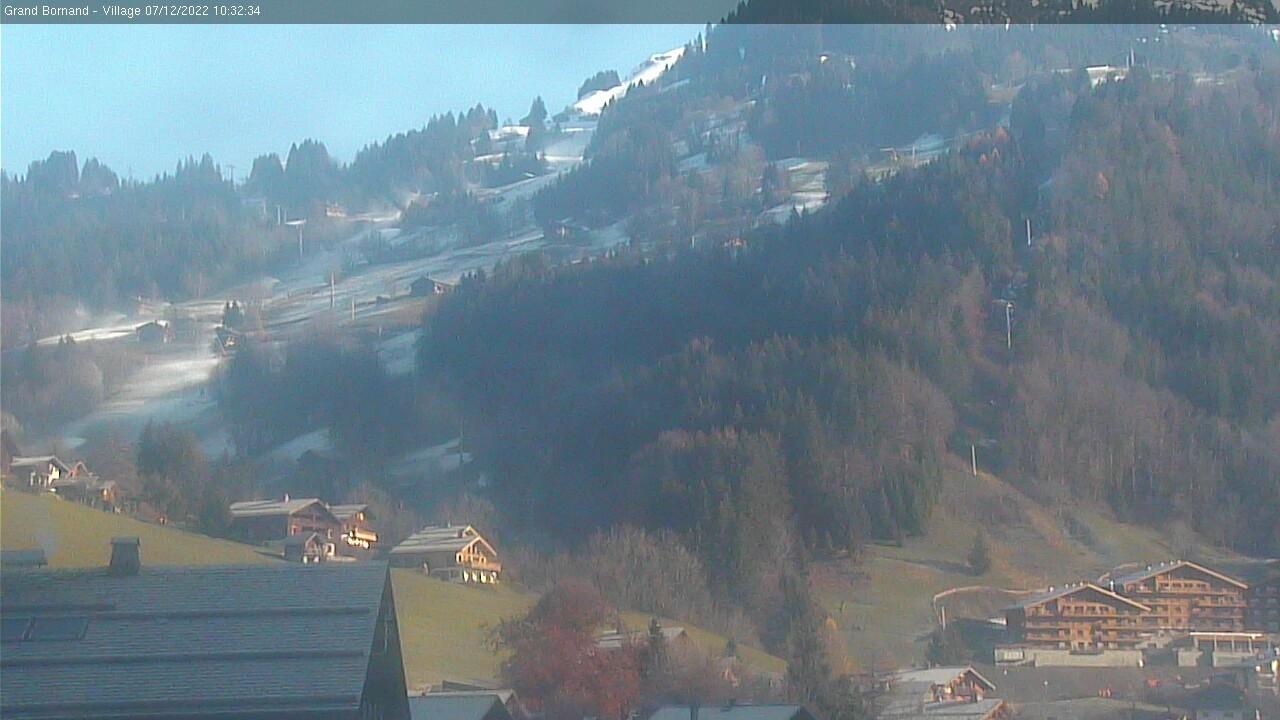 Grand Bornand webcam - Rosay bottom ski station