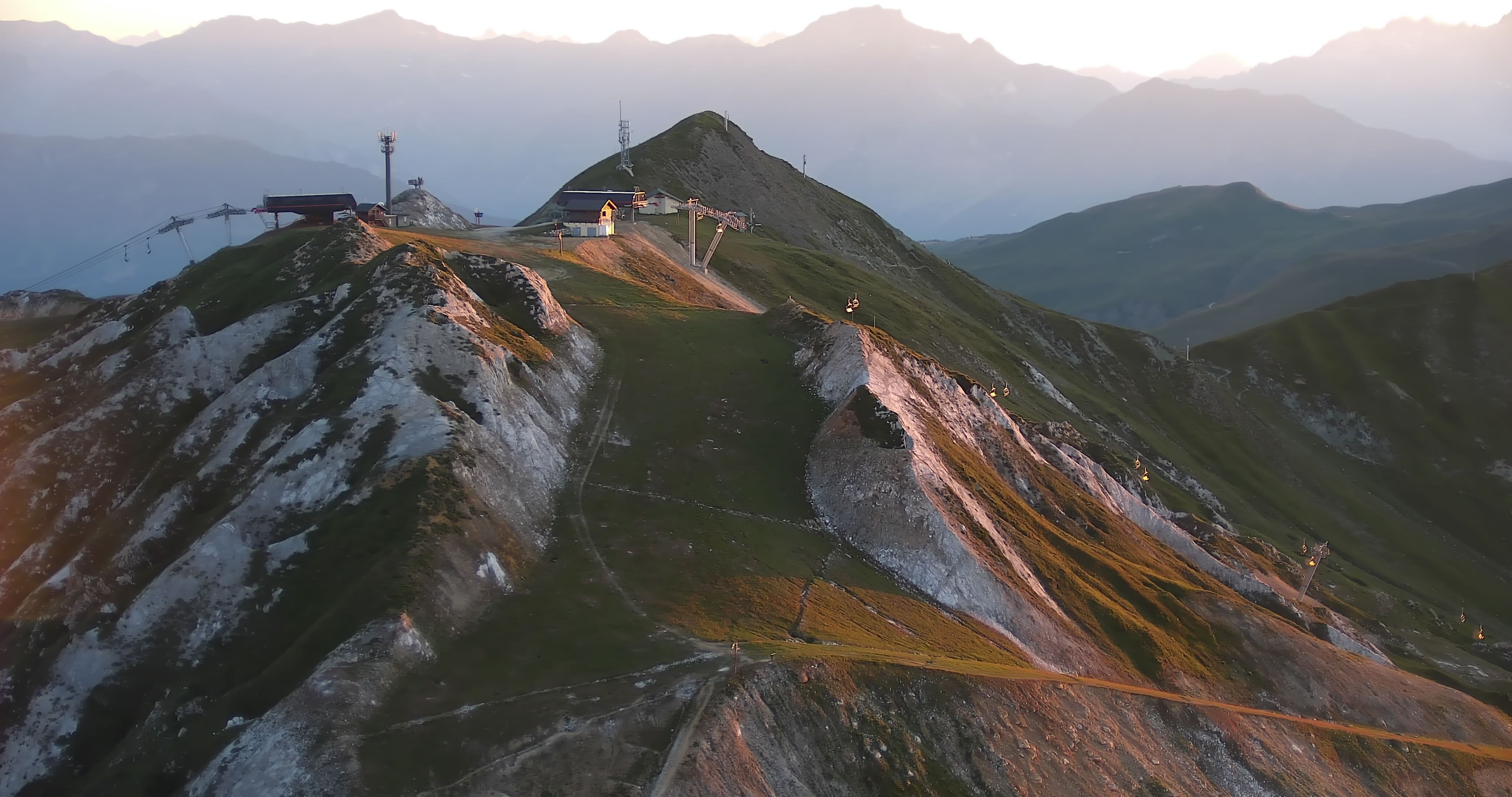 La Plagne webcam - Verdons ski station