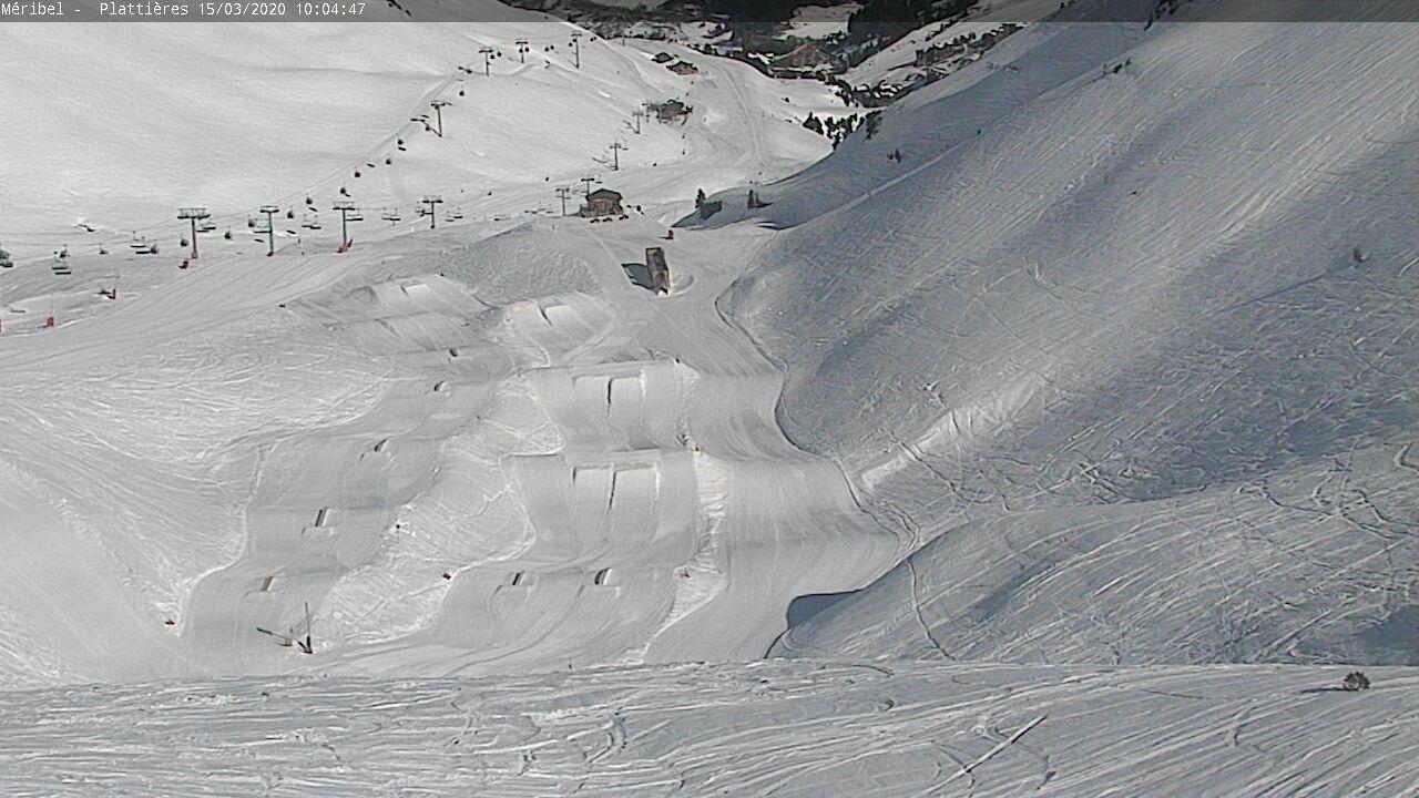 webcam 3 Valleys Meribel - Mont Vallon ski station